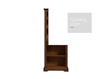 Old Charm Narrow Bookcase in Light Oak Traditional on Furniture Village
