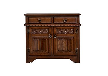 Old Charm Two Door Sideboard in Chestnut Traditional on Furniture Village