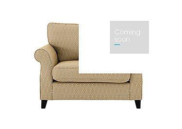Sahara Fabric Love Seat in Octave Ochre Dark Feet on Furniture Village
