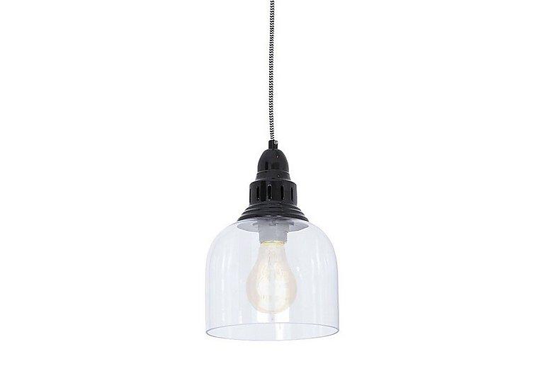 Whitechapel Ceiling Light in Black on Furniture Village