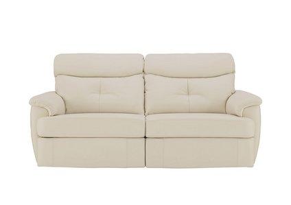 Atlanta 3 Seater Leather Recliner Sofa - G Plan - Furniture ...
