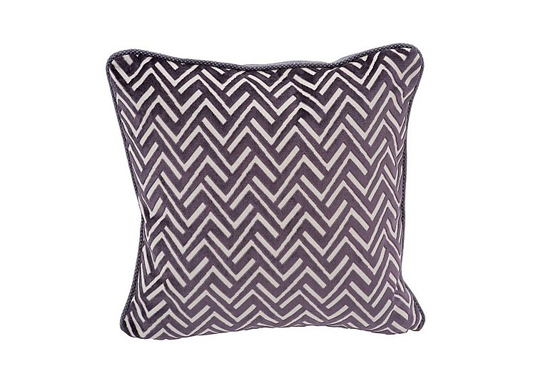Viola Fabric Scatter Cushion in Percy Plum on Furniture Village