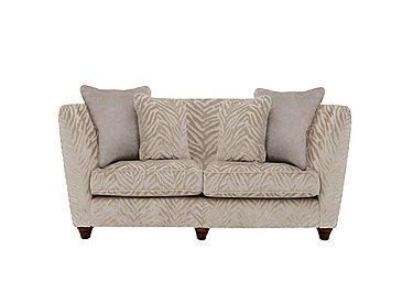 The Hollywood Collection Marilyn 2 Seater Fabric Sofa in Kenya Natural An on Furniture Village