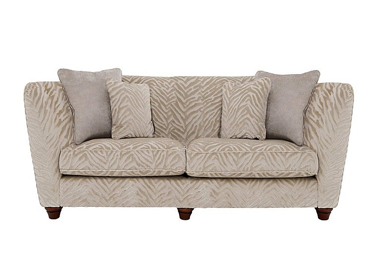 The Hollywood Collection Marilyn 3 Seater Fabric Sofa in Kenya Natural An on Furniture Village