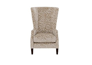 The Hollywood Collection Marilyn Fabric Accent Armchair in Kenya Natural An on Furniture Village