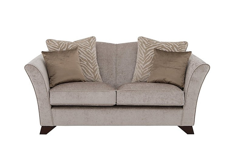 The Hollywood Collection Hepburn 2 Seater Fabric Sofa in Evie Mink  An on Furniture Village