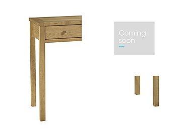 Eva Dressing Table in Oak on Furniture Village