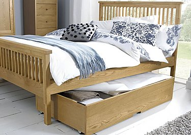 Eva High Footend Bed Frame in  on Furniture Village