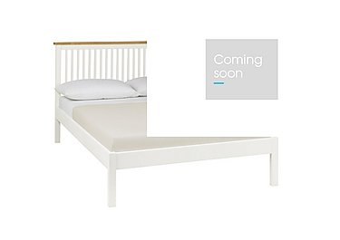 Eva Low Footend Bed Frame in Two Tone on Furniture Village