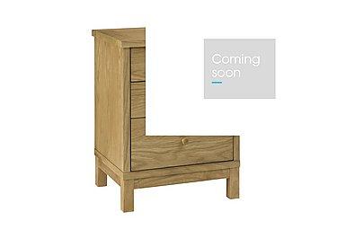 Eva 3 Drawer Nightstand in Oak on Furniture Village