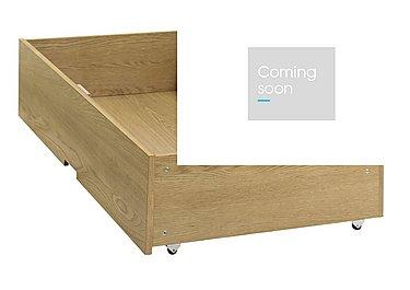 Eva Under Bed Drawer in Oak on Furniture Village