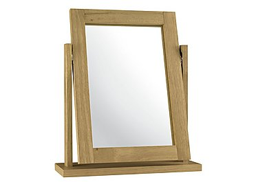 Eva Vanity Mirror in Oak on Furniture Village
