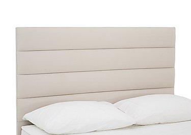 Prestige Tube Headboard in Linea Linen on Furniture Village