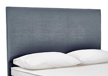 Prestige Flat Headboard in Linea Graphite on Furniture Village