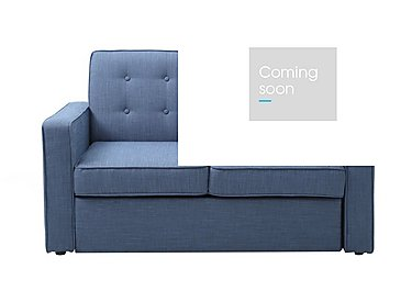 Julia Fabric Sofa Bed in Victoria Denim- Blue Denim on Furniture Village
