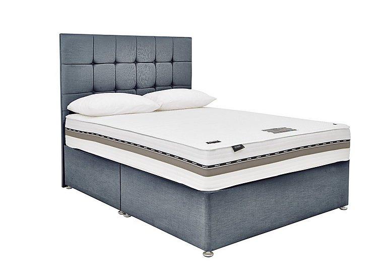 Prestige Pocket 320 Divan Set in Linea Graphite on Furniture Village