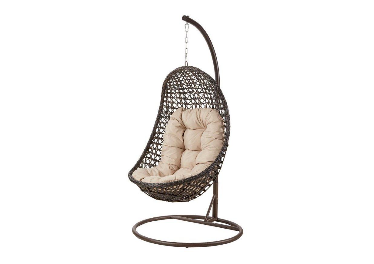 Oasis Rattan Hanging Chair Furniture Village