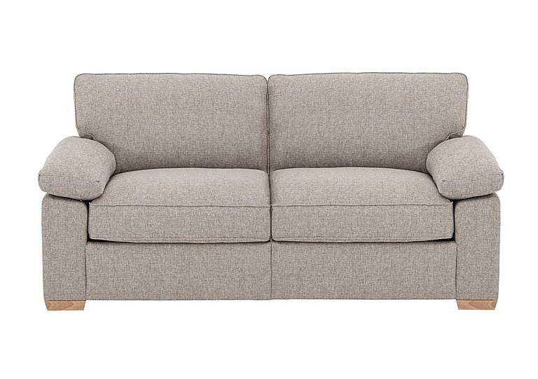 The Weekender Drift 3 Seater Fabric Sofa Bed in Alfa Natural Lt on Furniture Village