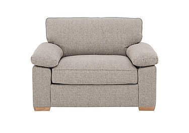 The Weekender Drift Deluxe Fabric Sofa Bed Chair in Alfa Natural Lt on Furniture Village