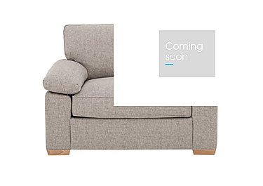 The Weekender Drift Fabric Sofa Bed Chair in Alfa Natural Lt on Furniture Village