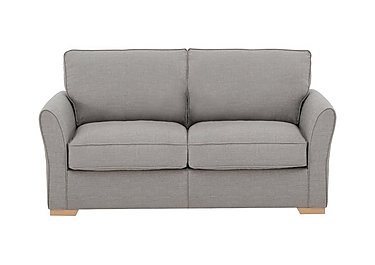 The Weekender Breeze 2 Seater Deluxe Fabric Sofa Bed in Barley Silver Lt on Furniture Village