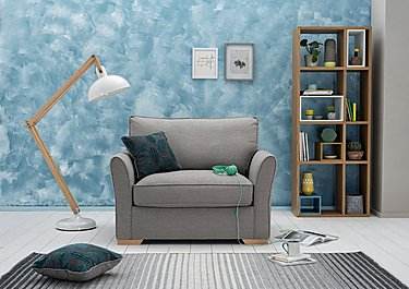 The Weekender Breeze 2 Seater Fabric Sofa Bed in  on Furniture Village