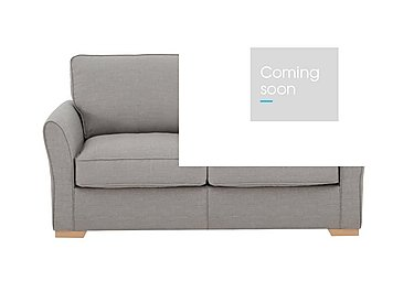 The Weekender Breeze 2 Seater Fabric Sofa Bed in Barley Silver Lt on Furniture Village