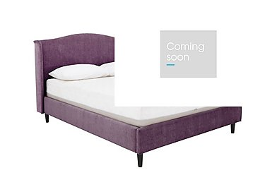 Libre Bed Frame in Matrix 13 Purple on Furniture Village