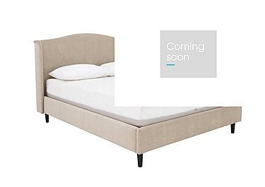 Libre Bed Frame in Matrix 3 Biscuit on Furniture Village
