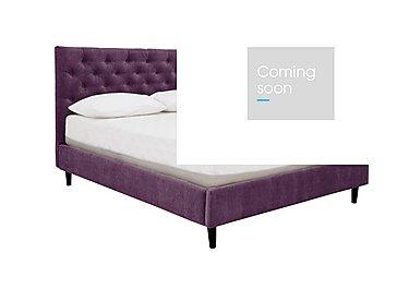Spritz Super King Bed Frame in Matrix 13 Purple on Furniture Village