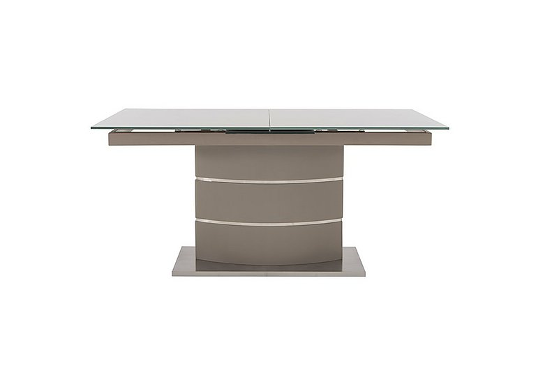 Malibu Dining Table in Taupe on Furniture Village