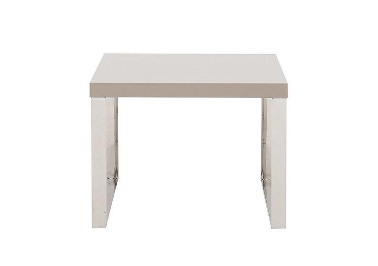 Malibu Lamp Table in Taupe on Furniture Village