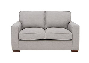 The Weekender Dune 2 Seater Deluxe Fabric Sofa Bed in Barley Silver Dk on Furniture Village