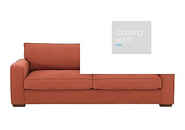The Weekender Dune 3 Seater Fabric Sofa Bed in Cosmo Spice Dk on Furniture Village