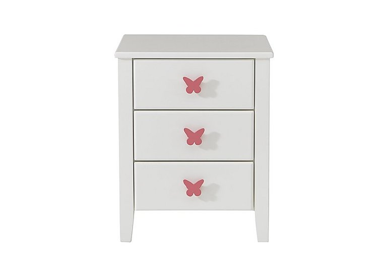 Blossom Bedside Table in Pink on Furniture Village