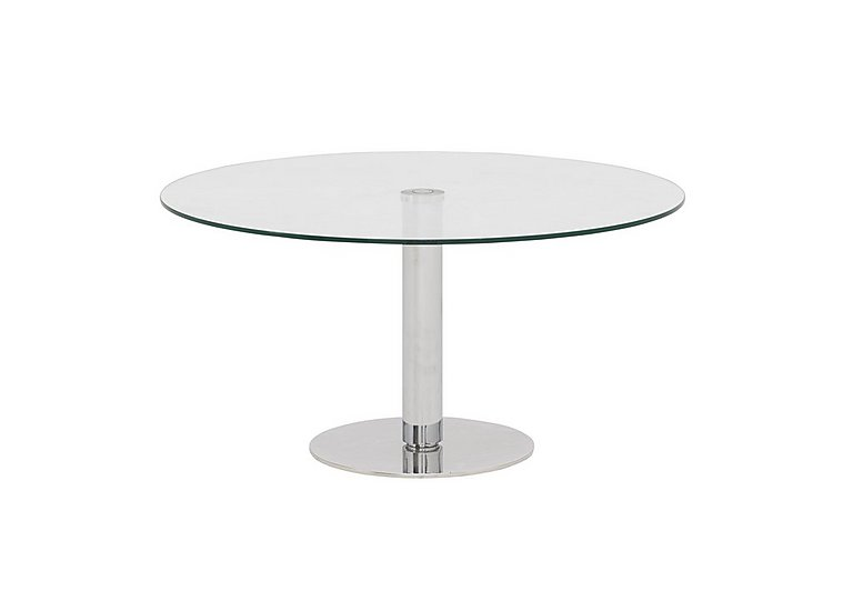 Lift Coffee Table in Clear Glass on Furniture Village