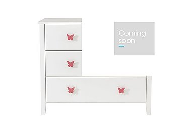 Blossom 4 Drawer Chest in Pink on Furniture Village