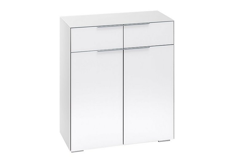 Wall Street Storage Cupboard in White on Furniture Village