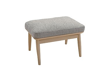 Marino Fabric Footstool in E632 on Furniture Village