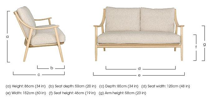 Marino Fabric Sofa in  on Furniture Village