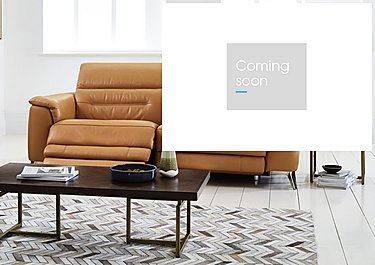 Sanza 3 Seater Leather Recliner Sofa in  on Furniture Village