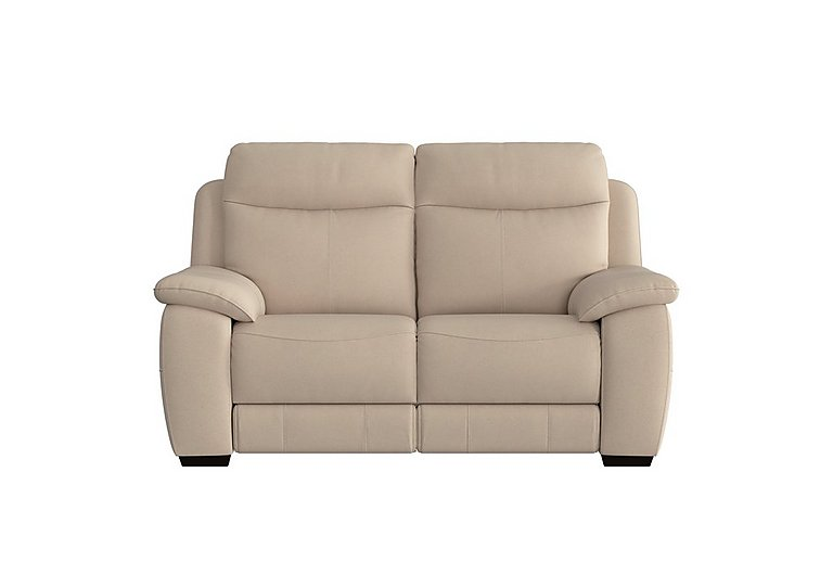 Starlight Express 2 Seater Fabric Recliner Sofa with Power Headrests in Bfa-Blj-R20 Bisque on Furniture Village