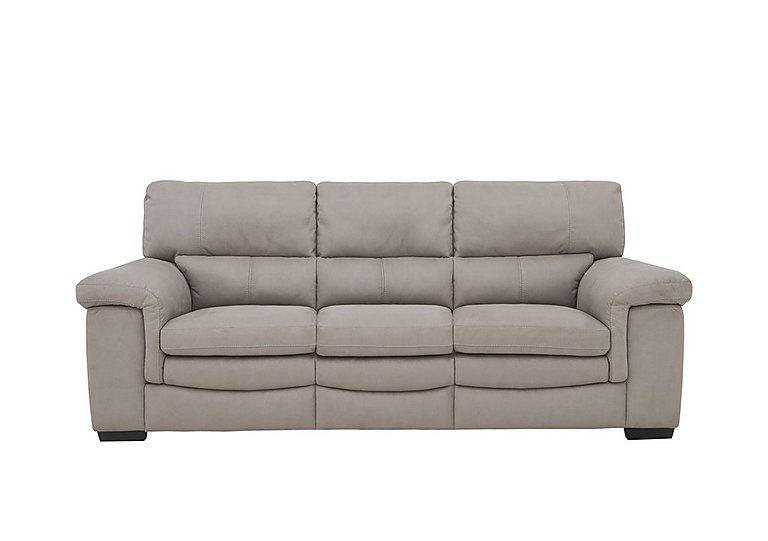 Georgia 3 Seater Fabric Sofa in Bfa-Blj-22 Dove Grey on Furniture Village