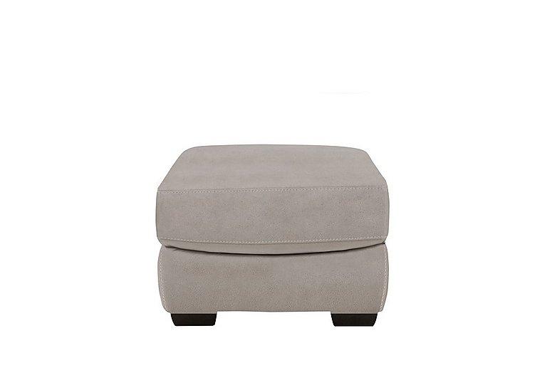 Georgia Fabric Storage Footstool in Bfa-Blj-22 Dove Grey on Furniture Village