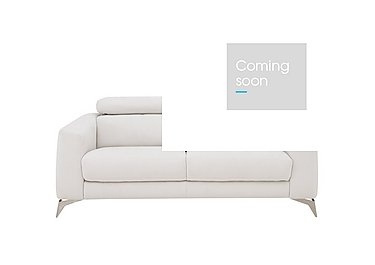 Flavio 2 Seater Fabric Sofa in Bfa-Mad-R06 Bisque on Furniture Village