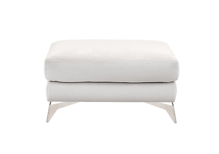 Flavio Fabric Footstool in Bfa-Mad-R06 Bisque on Furniture Village