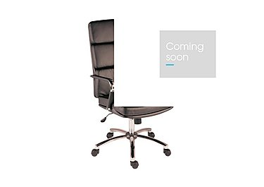 East River Pier 15 Office Chair in Black on Furniture Village