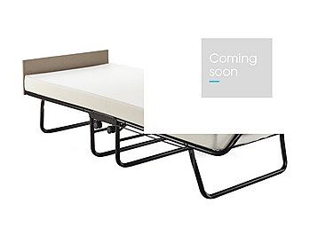 Supreme Folding Bed with Memory Foam Mattress in  on Furniture Village