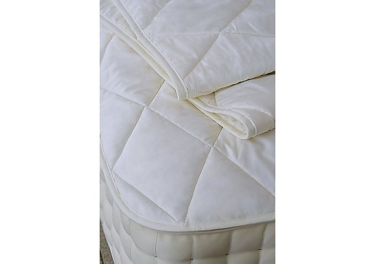 Vispring Mattress Protector in  on Furniture Village