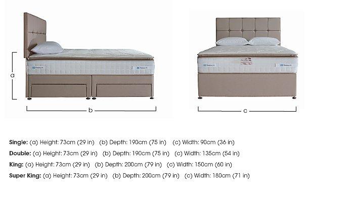 Pillow Top 2200 Divan Set in  on Furniture Village